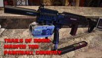 Magfed Paintball Tippmann TCR Rifle ZoomCam at Paintball Country Rec ball Trails of Doom