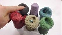 Kinetic Sand Colors Icecream Toys DIY Learn Colors Glitter Slime Clay Syringe
