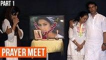 Pratyusha Banerjee 1st death Anniversary - Uncut Part 2