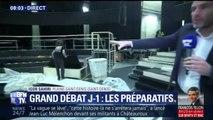 À J-1 avant le grand débat entre les 11 candidats à la présidentielle, découvrez les coulisses du plateau