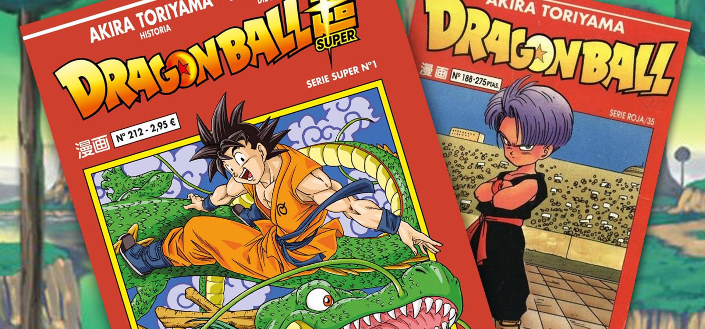 Todas las ediciones manga de Dragon Ball en España + Concurso