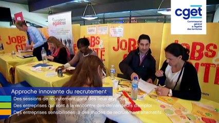 [#2] Innovations et quartiers prioritaires | Jobs&Cité, le recrutement autrement