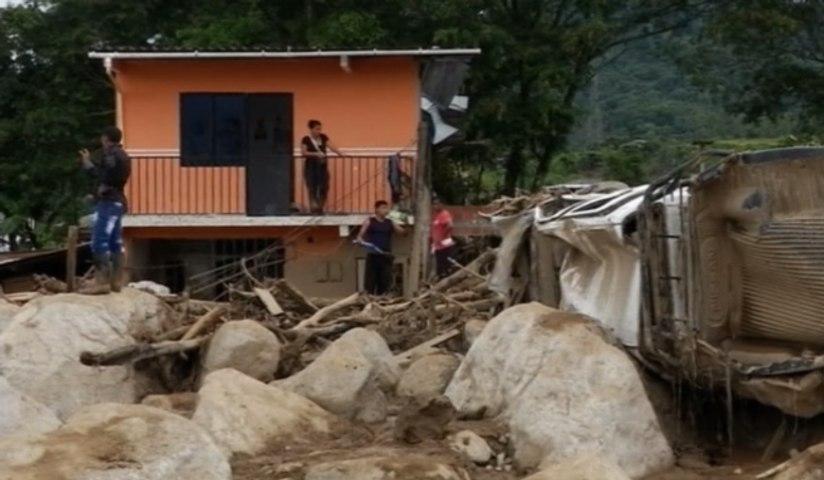 Colombie: une coulée de boue fait au moins 254 morts à Mocoa