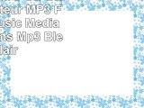 ONN W6 Mini 8 GB Bluetooth Lecteur MP3 FM Radio Music Media Audio Sports Mp3 Bleu clair