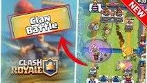 Clash royale combat de clan en équipe la victoire la plus rapide 2 vs 2 speed fight crazy Gameplay clan battle