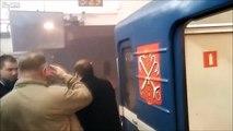 Vidéo tournée juste après les explosions dans le métro en Russie