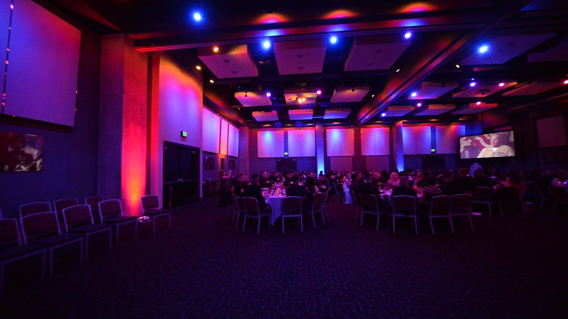The Creative Music DJ - Hard Rock Hotel San Diego -Marine Corps Ball DJ - Dual Projector Screens Exa