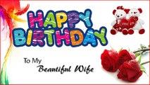 Happy birthday to my wife / Happy Birthday Wishes to wife / Greetings