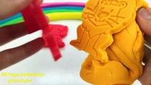 Learn Colors Play Doh Rainbow Modelling Clay Animals Molds Fun and Creative for Kids Nursery Rhymes-W5xGLM7-LZU