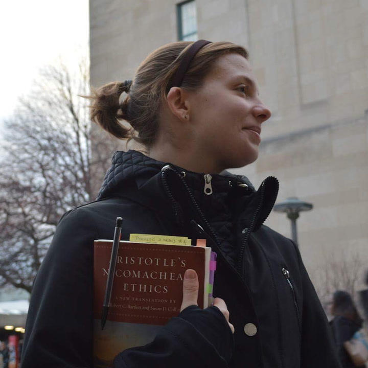This college student teaches philosophy to the homeless [Mic Archives]