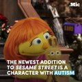 The newest addition to Sesame Street is a character with autism