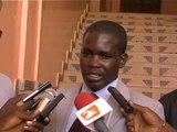 Abdoulaye Diop du COSEC porte drapeau de Benno Bok Yakar à Sédhiou