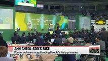 Ahn Cheol-soo rising to challenge former rival Moon Jae-in