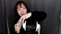 [Miniyu Ear Cleaning ASMR] New 3Dio Ear Cleaning [미니유 귀청소 ASMR] 새로운 삼디오 첫 귀청소