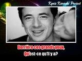 Patrick Bruel - Une chanson qui sert à rien KARAOKE / INSTRUMENTAL