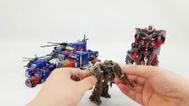 Transformers Commander & Voyager Optimus Prime Megatron Sentinel Prime Blackout Car Robot Toys