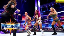 Charlotte vs Sasha Banks vs Bayley vs Nia Jax _WWE Wrestlemania 33 Full Match