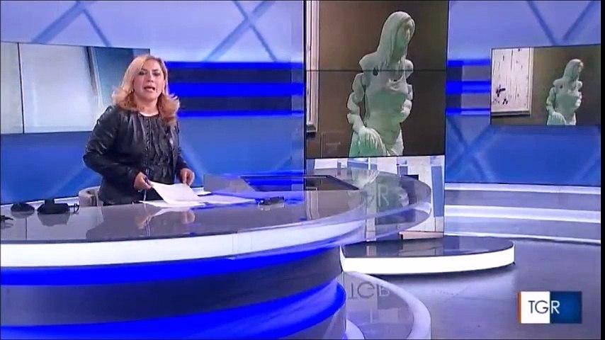 Esposizione Triennale di Arti Visive a Roma nel servizio del TGR del 29 Marzo
