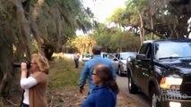 Myakka Skunk Ape Sighting in Florida