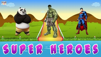 Our Super Heroes - Fun Learning Educational Video For Kids By Catrack Kids