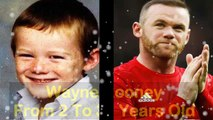Wayne Rooney - From 2 To 31 Years Old _ Wayne Rooney From Childhood To 31 Years Old