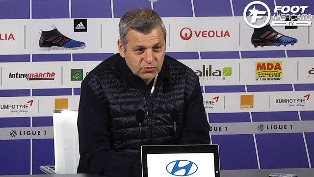 OL : Bruno Genesio évoque le cas Fekir