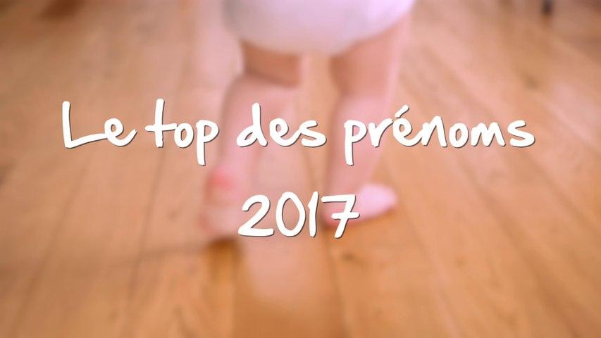Le top des prénoms 2017
