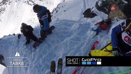 GoPro run Drew Tabke - Swatch Xtreme Verbier FWT17