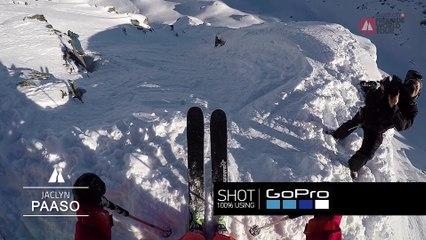 GoPro run Jackie Paaso - Swatch Xtreme Verbier FWT17