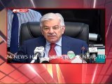 Journalist Made Khawaja Asif Speechless During Press Conference