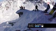 Adrénaline - Ski : Le run de Léo Slemett sur l'Xtreme Verbier 2017 en caméra embarquée