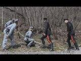 Breno (BS) - Incendio boschivo, arrestato piromane che voleva agevolare bracconaggio (04.04.17)
