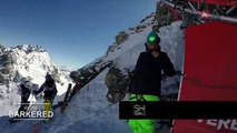 Adrénaline - Ski : Le run vainqueur de Reine Barkered sur l'Xtreme Verbier en caméra embarquée