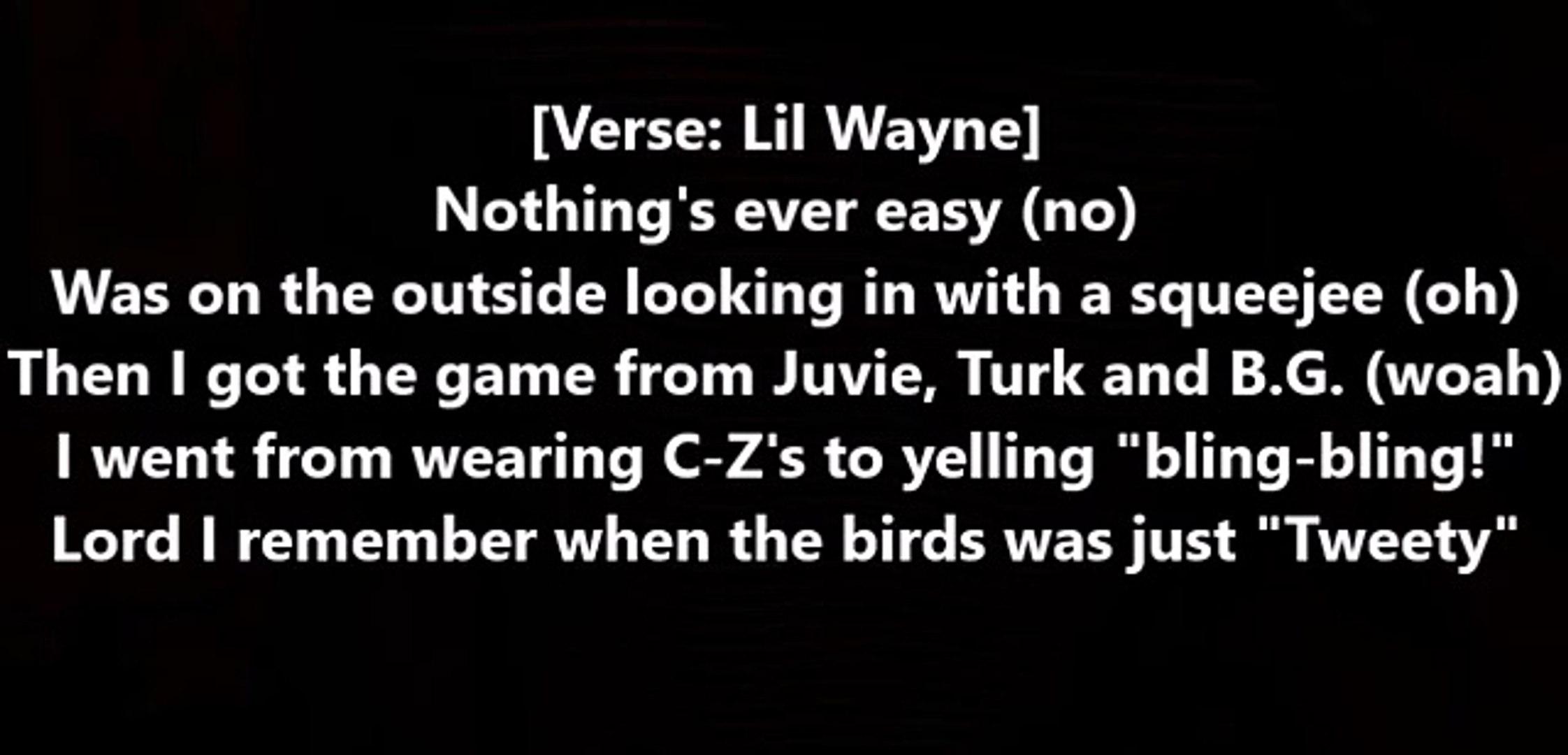 Baby E - Bando ft. Lil Wayne & Hoody Baby (Lyrics)