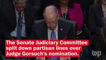 Senate hurtles toward filibuster showdown over Gorsuch