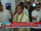 Kampo ni VP Binay, direktang pinangalanan ang umano'y mga nasa likod ng 'Oplan Stop Nognog 2016'