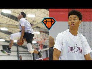 Anfernee Simons Was FIRING On All Cylinders at HoopExchange Travel Jamboree!! | Louisville Commit