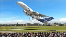 Amazing AIR SHOW VERTICAL take off Biggest Aircraft ✱ LARGE COMMERCIAL AIRBUS A380 A350 BOEING