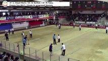 Finale tir progressif féminin, Sport Boules, France Tirs, Dardilly 2017