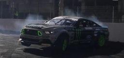 VÍDEO: Vaughn Gittin Jr: drift al más alto nivel con su Ford Mustang