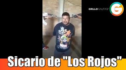 Sicario de Los Rojos en Guerrero