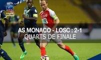 Coupe de France, quarts de finale : AS Monaco-LOSC (2-1), le résumé