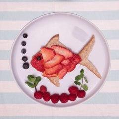 Petits poissons aux fruits rouges : trop bon !