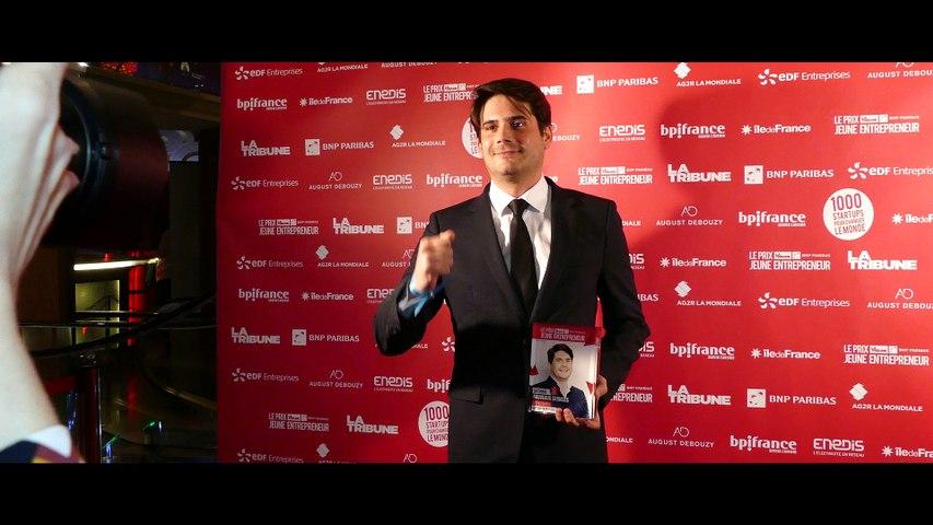 Clip cérémonie Prix La Tribune BNP Paribas Jeune Entrepreneur 2017