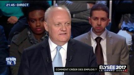 François Asselineau lors du grand débat