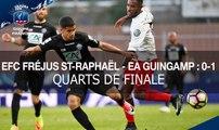 Coupe de France, quarts de finale : EFC Fréjus-St-Raphaël-EA Guingamp (0-1), le résumé
