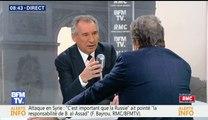 François Bayrou, invité de Bourdin Direct sur BFMTV - 050417