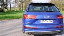 Essai Audi SQ7 TDI V8T Biturbo - accélération, conduite