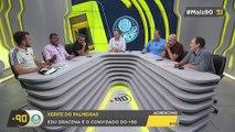 Quem faz mais pressão no adversário jogando em casa? Santos, Corinthians ou Palmeiras?