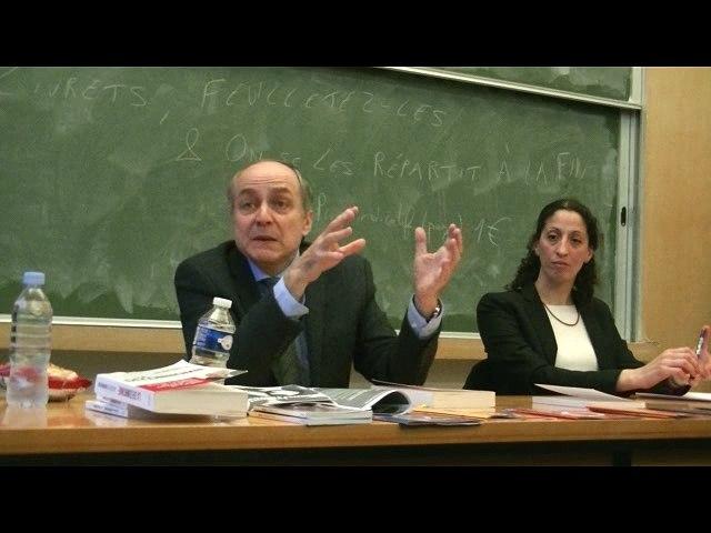 Jacques Généreux, La Déconnomie, Conférence à l'ENS de Cachan, le 8 mars 2017